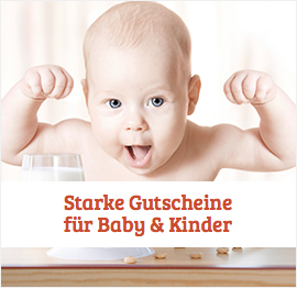 Baby &amp; Kinder Gutscheine
