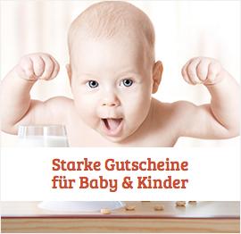 Baby & Kinder Gutscheine