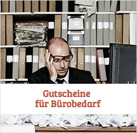 Bürobedarf Gutscheine
