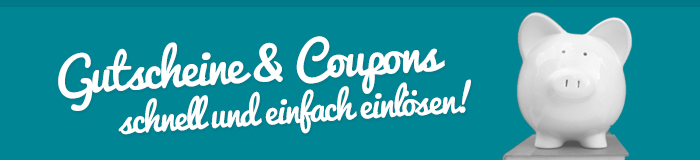 Coupons einlsen