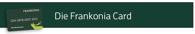 Frankonia-Card