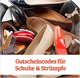 Schuhe &amp; Strmpfe Gutscheine