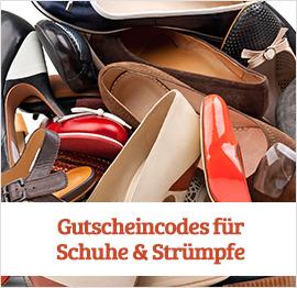 Gutscheincodes für Schuhe & Strümpfe