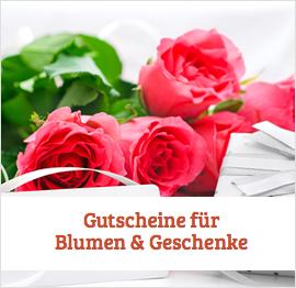 Blumen & Geschenke Gutscheine