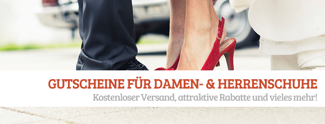 Schuhe Gutscheine und Rabatte