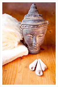 Impressionen einer Buddha Figur