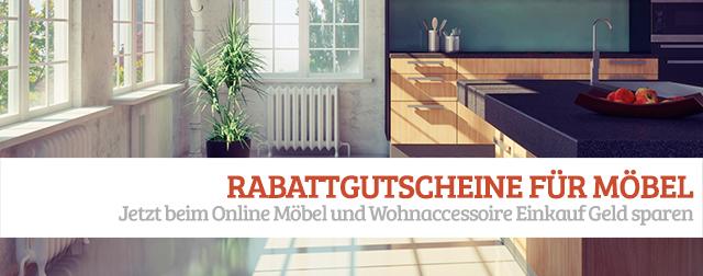 Rabattgutscheine Möbel und Wohnaccessoires