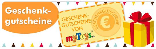 myToys Geschenkgutscheine