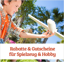 Spielzeug &amp; Hobby Gutscheine