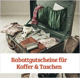 Koffer & Taschen Gutscheine