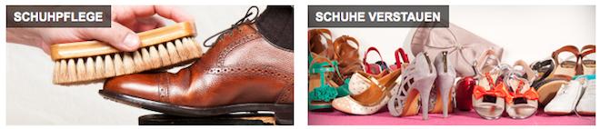 Sarenza Tipps: Schuhpflege und Schuhe verstauen