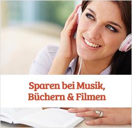 Musik, Film & Buch Gutscheine