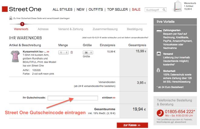 Street One Mode online kaufen