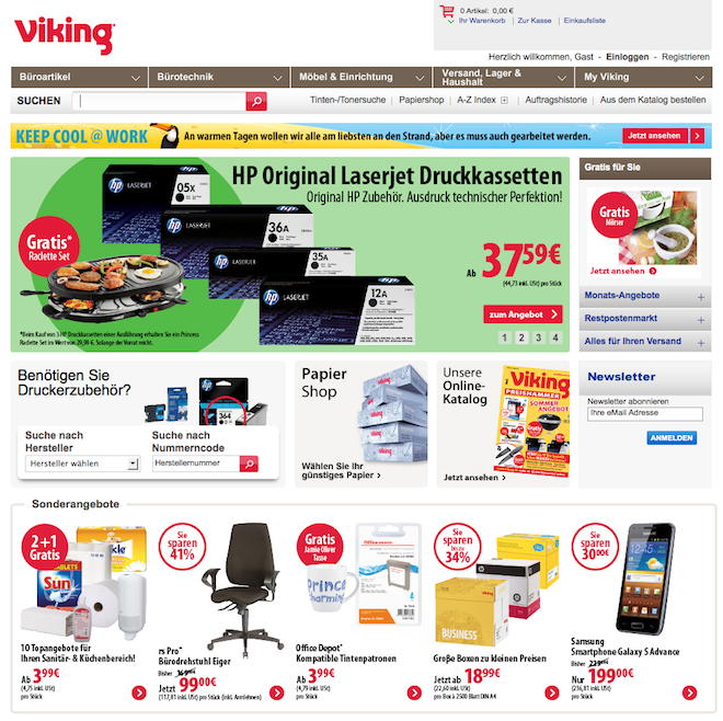 Viking Online Shop