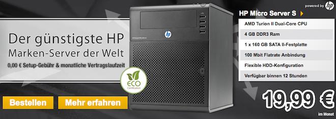 Webtropia HP Markenserver günstig bestellen