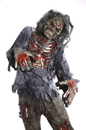 Verkleidung Zombie bei Horrorklinik.de