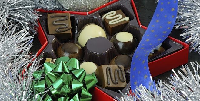 Pralinen zu Weihnachten schenken