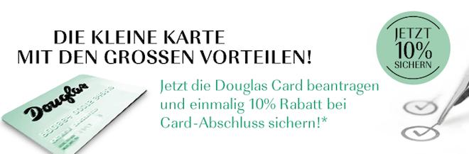 Douglas Kundenkarte