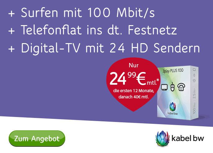 Kabekl BW Angebot 3 Play