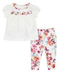 Mimi Baby-Jerseyset mit Schleife bei Accessorize